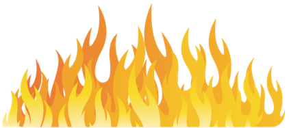 graphic of fire